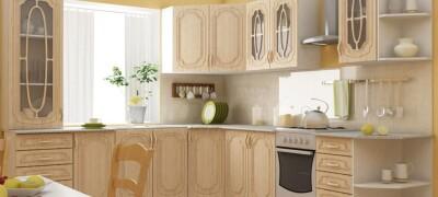 Виды образцов кухонных гарнитуров