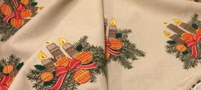 Описание и выбор ткани для скатерти
