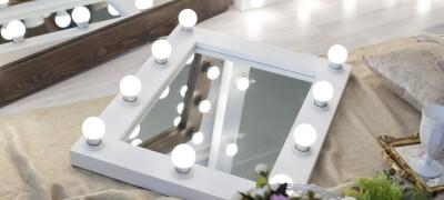 Изготовление зеркала с подсветкой своими руками