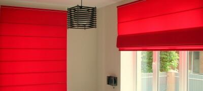 Варианты крепления рулонных штор на пластиковые окна или к стене