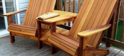 Как изготовить садовую мебель своими руками