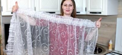 Как стирать белую тюль в стиральной машинке