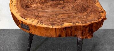 Самые оригинальные и интересные столы из дерева