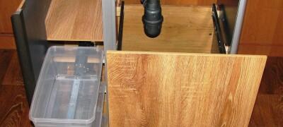 Изготовление и выбор тумбы под мойку на кухню