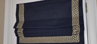 Греческие шторы в интерьере — описание и выбор