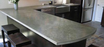 Как изготовить столешницу из бетона своими руками — пошаговое руководство