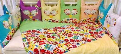 Как самостоятельно сшить детское постельное бельё