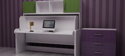 Устройство кровати-стола трансформера