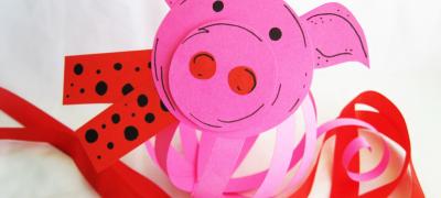 Как сделать свинку своими руками из бумаги