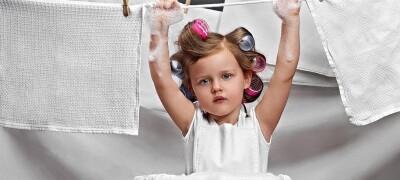 Чем отбелить кухонные полотенца в домашних условиях