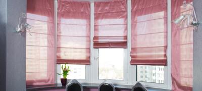 Как правильно крепятся римские шторы
