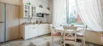 Как пошить шторы на кухню своими руками