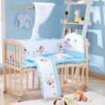 бортики в кроватку для новорожденных идеи фото