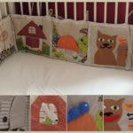 бортики в кроватку для новорожденных идеи оформление