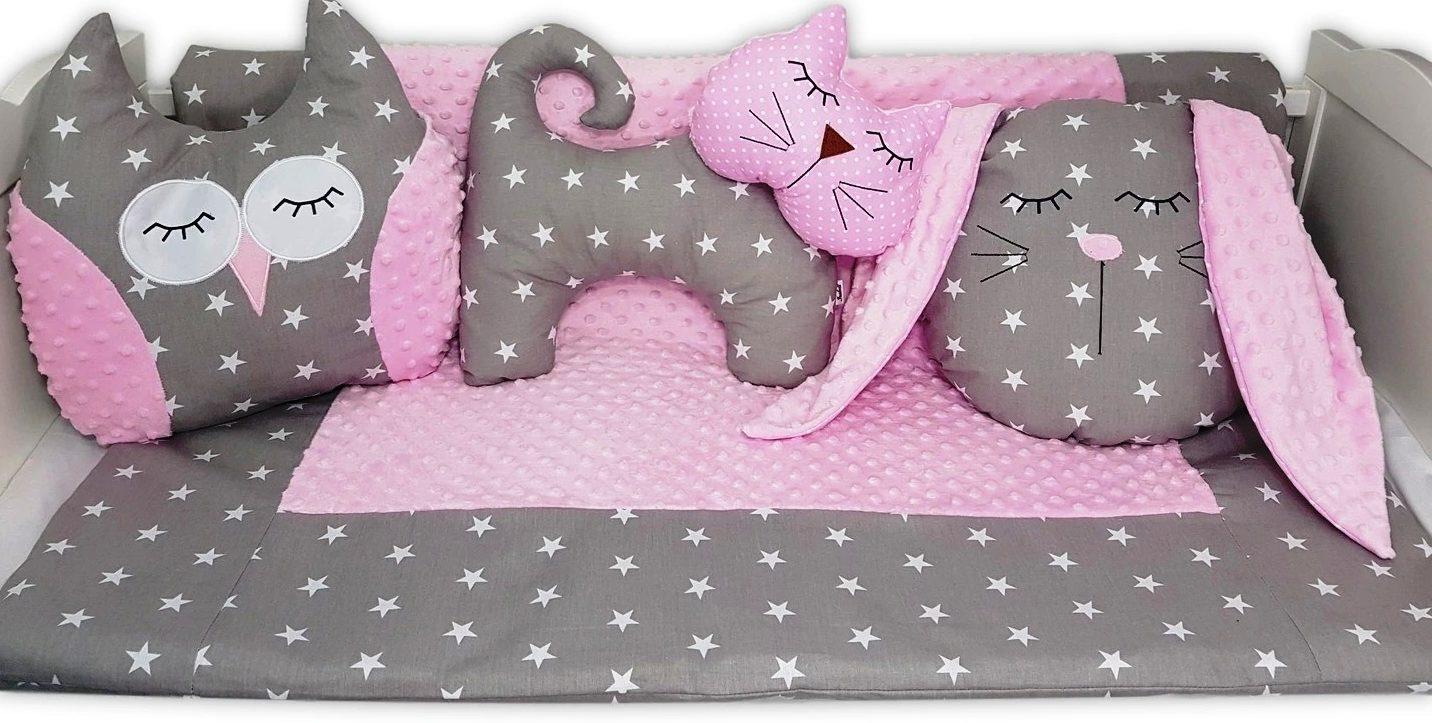 бортики в кроватку для новорожденных зверушки фото