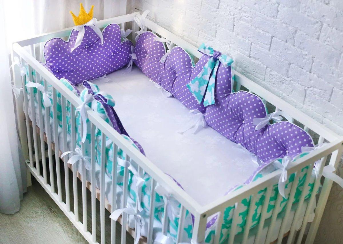 бортики в кроватку фото