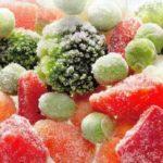 быстрая заморозка фруктов