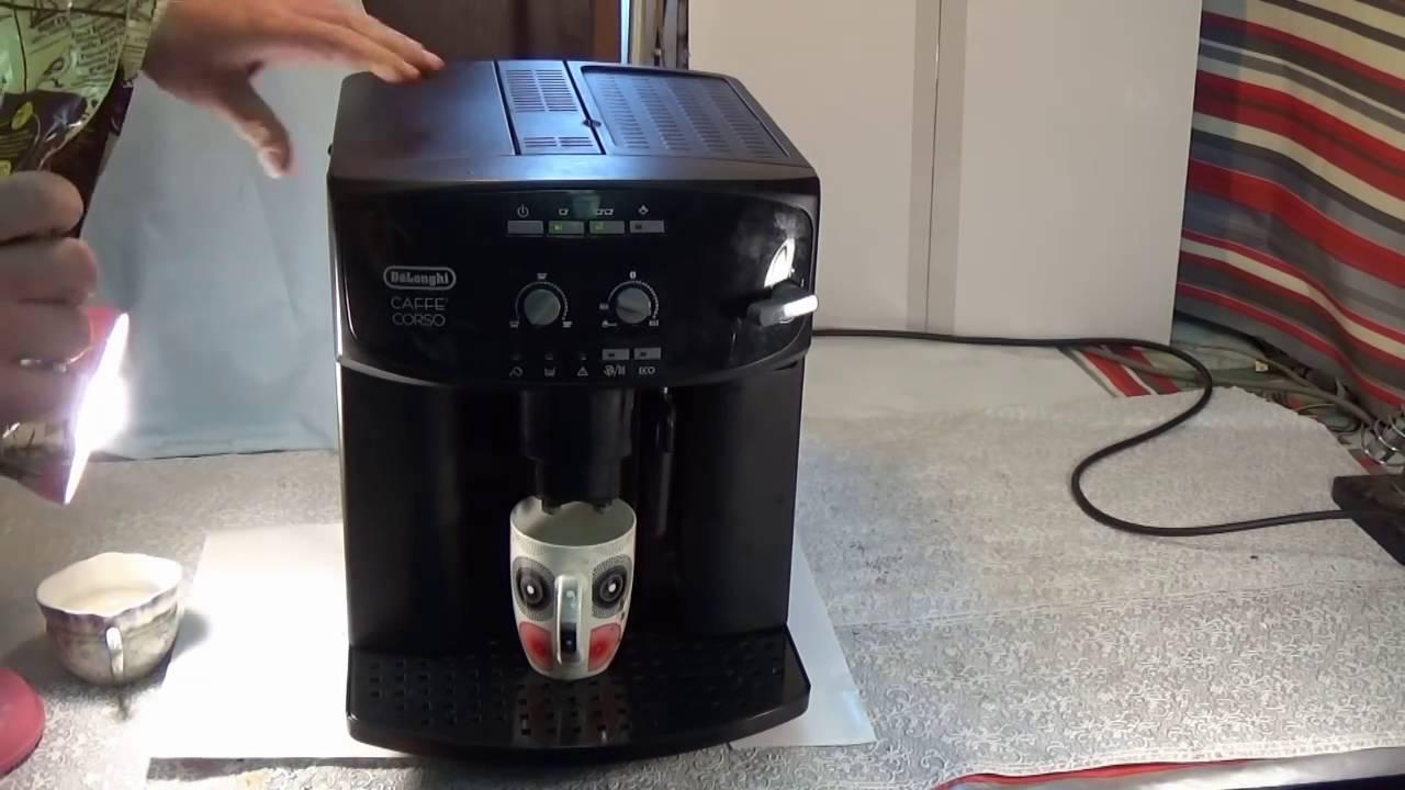 чистка кофемашины Delonghi