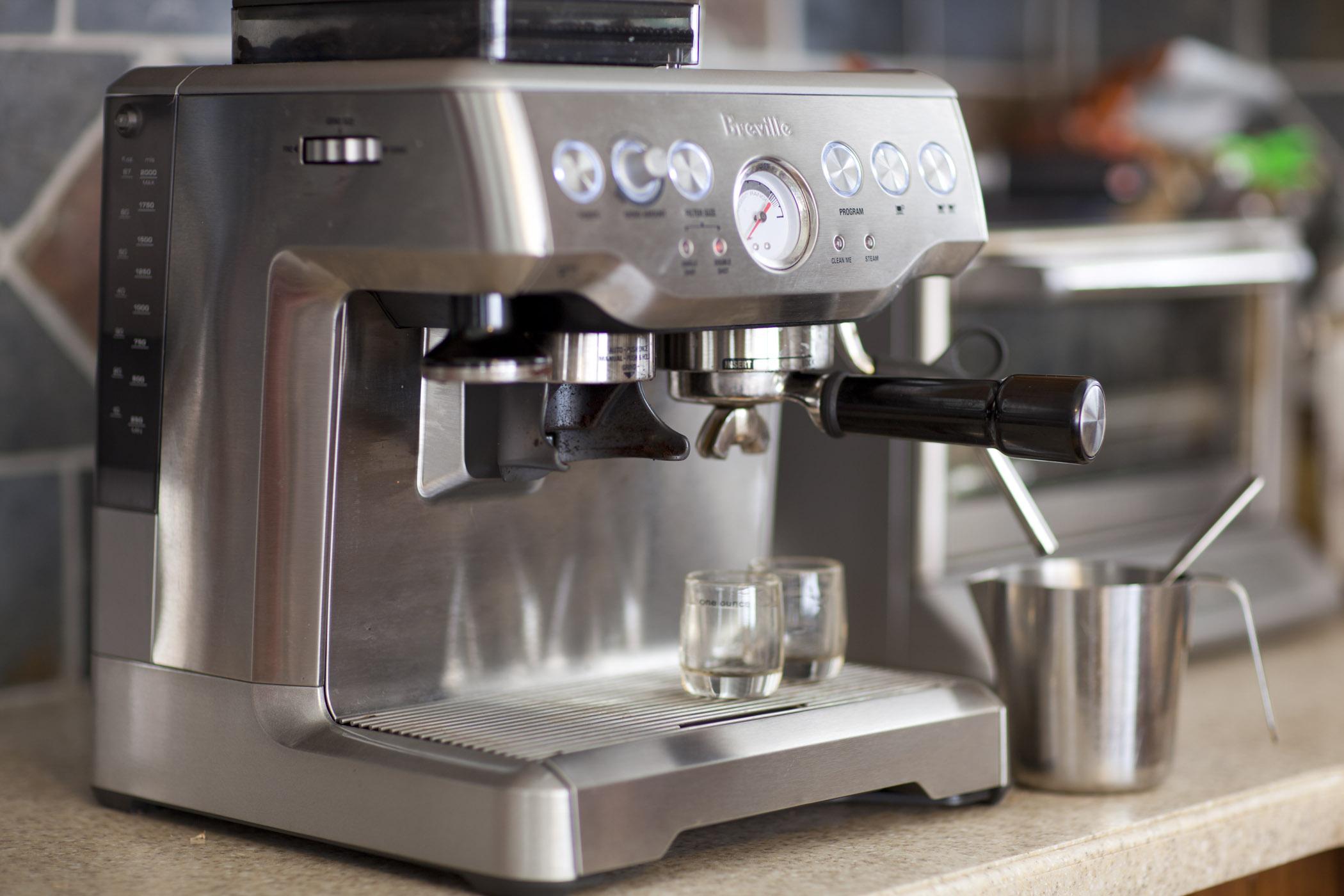 чистка кофемашины фото