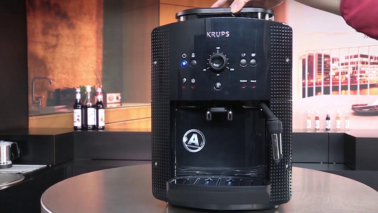 чистка кофемашины Krups