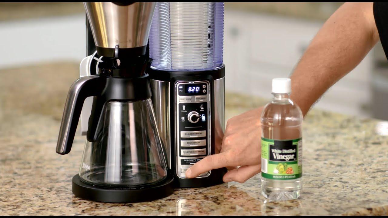 чистка кофемашины уксусом