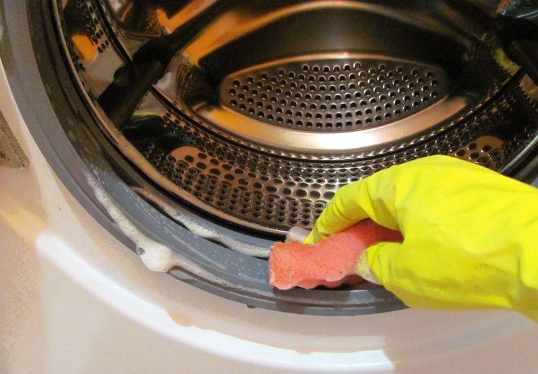 чистка манжеты стиральной машины фото