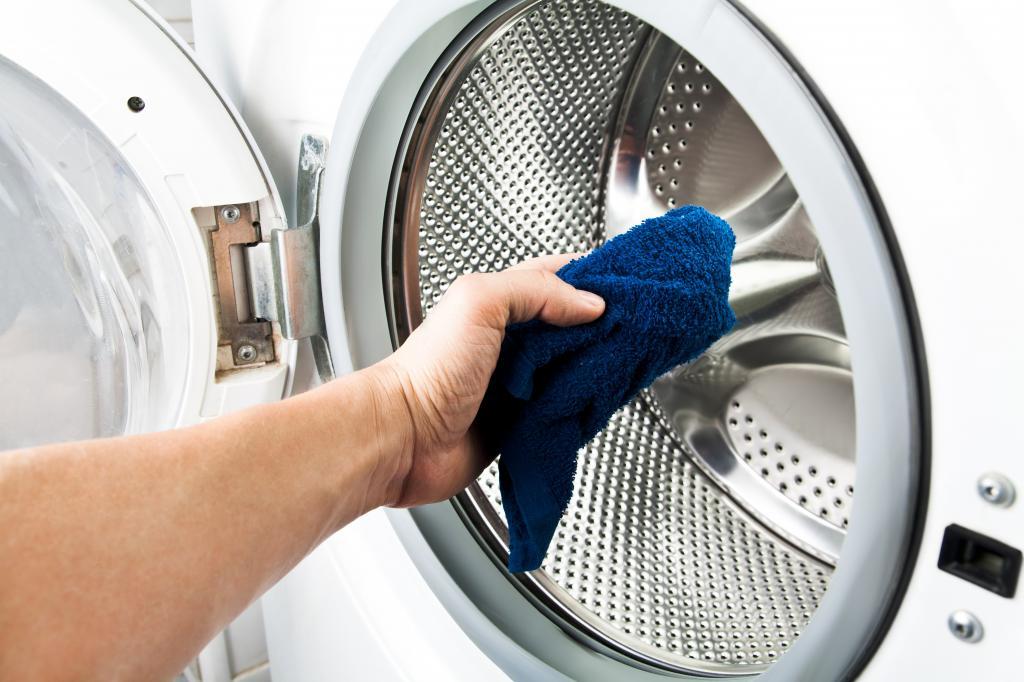 чистка стиральной машины от запаха