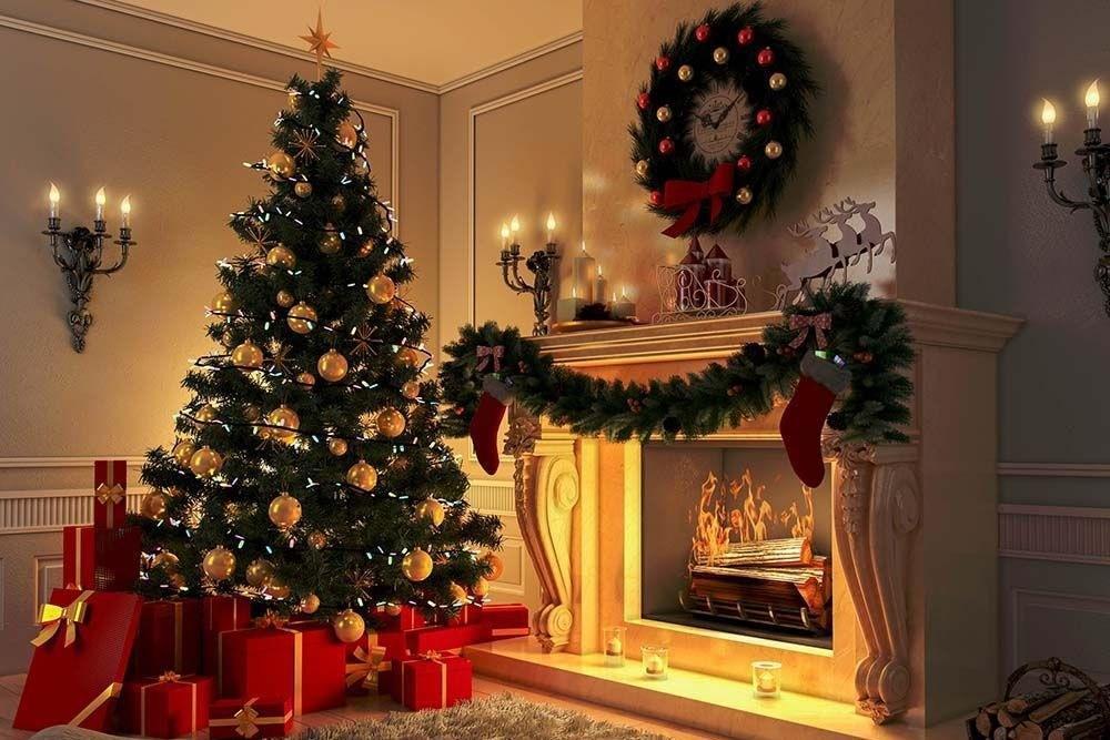 декор новогодней ёлки