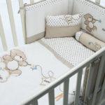 бортики в кроватку для новорожденных фото обзор