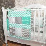 бортики в кроватку для новорожденных виды оформления