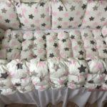 бортики в кроватку для новорожденных варианты дизайна