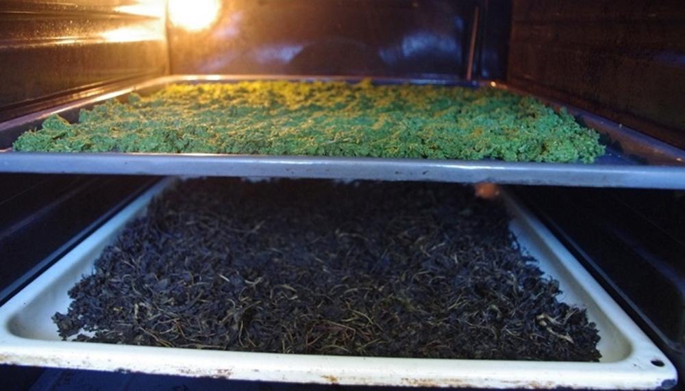ферментация иван чая в духовке
