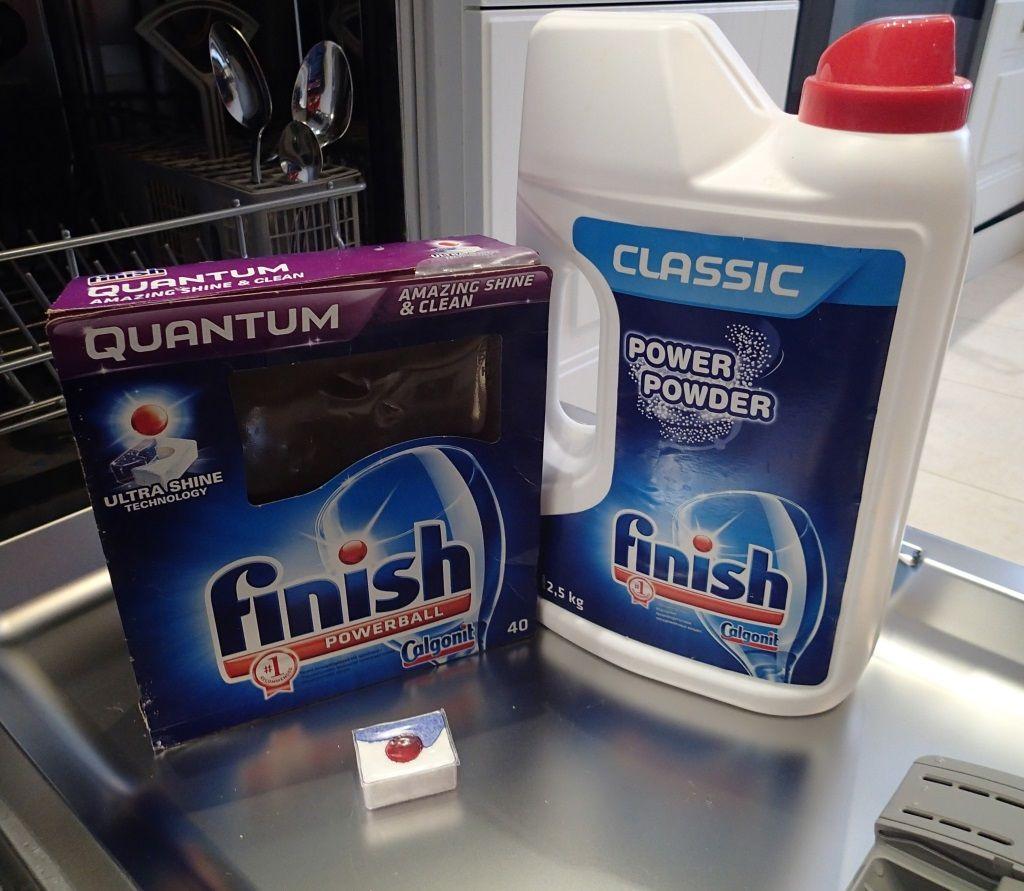 посудомоечные средства Finish