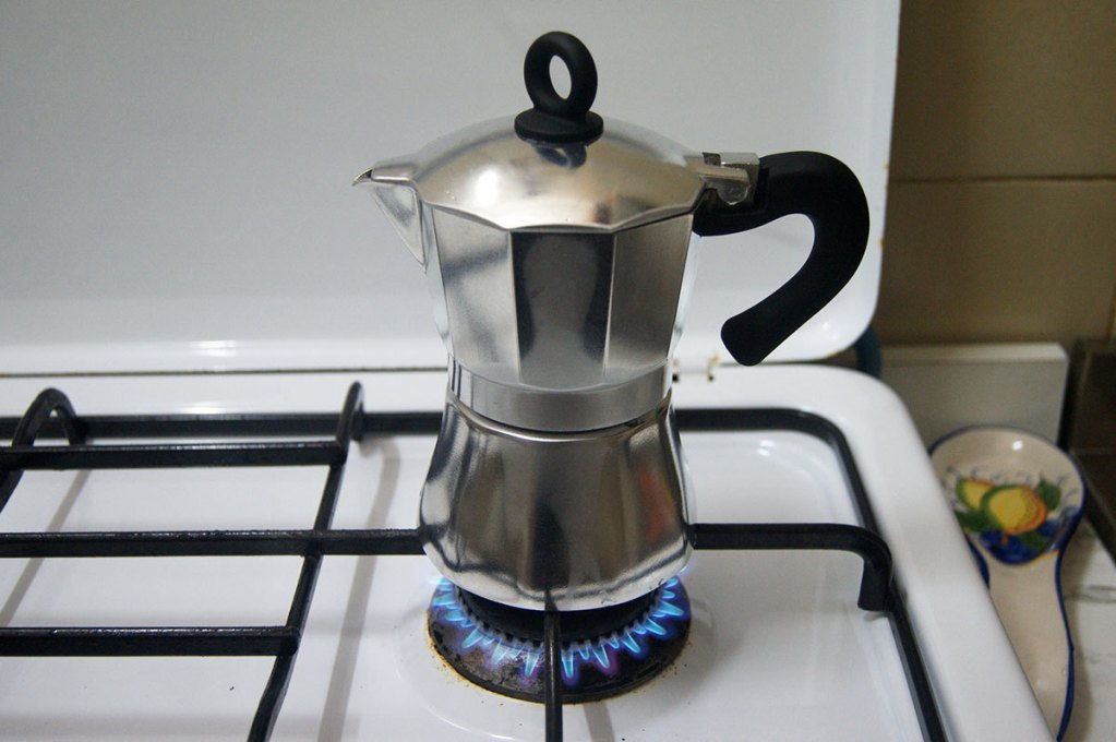 кофеварка гейзерная на плите
