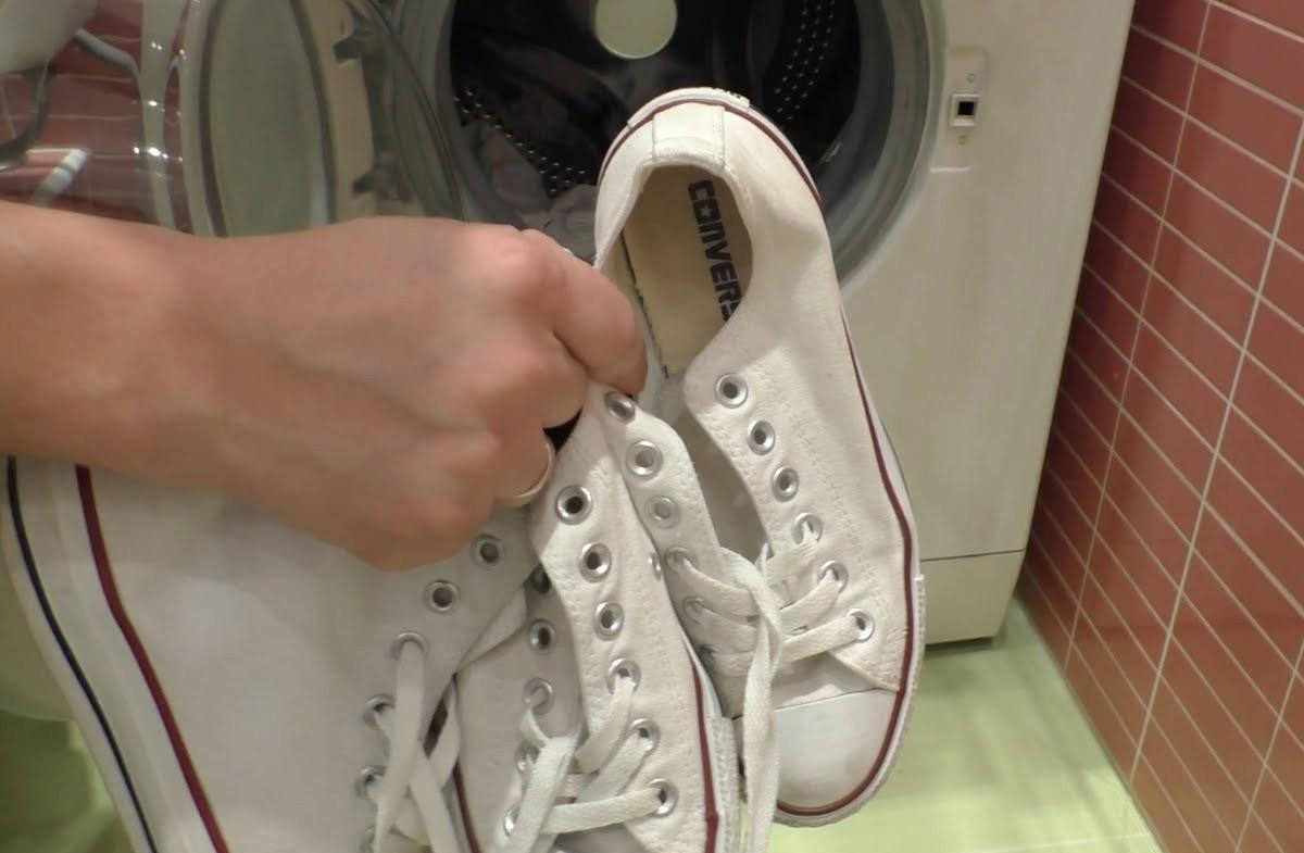 как мыть кеды