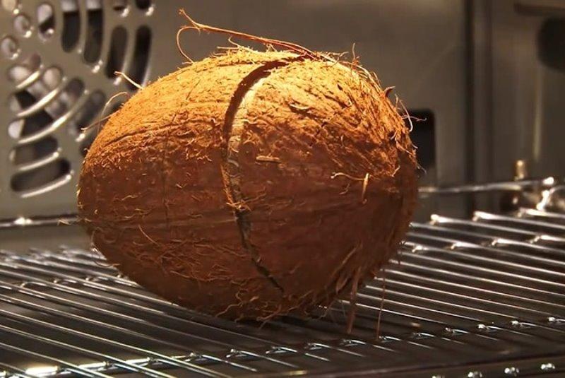 кокос в духовке