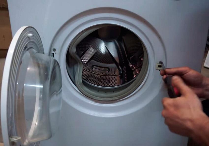 как открыть стиральную машину