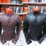 как перекрасить кожаную куртку