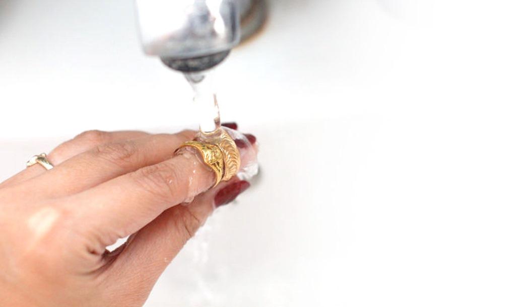 как помыть золото