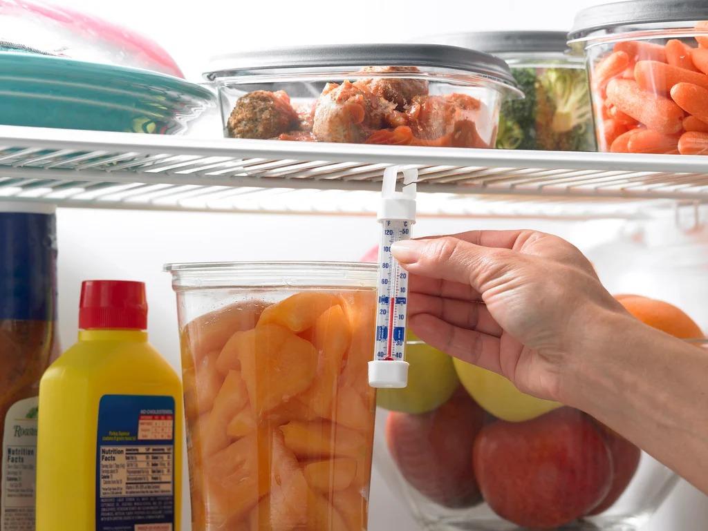 как узнать какая температура в холодильнике