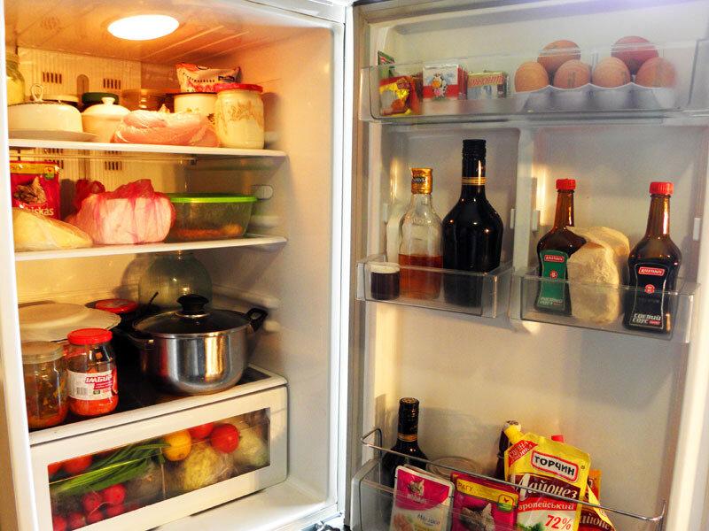 какая температура в дверце холодильника