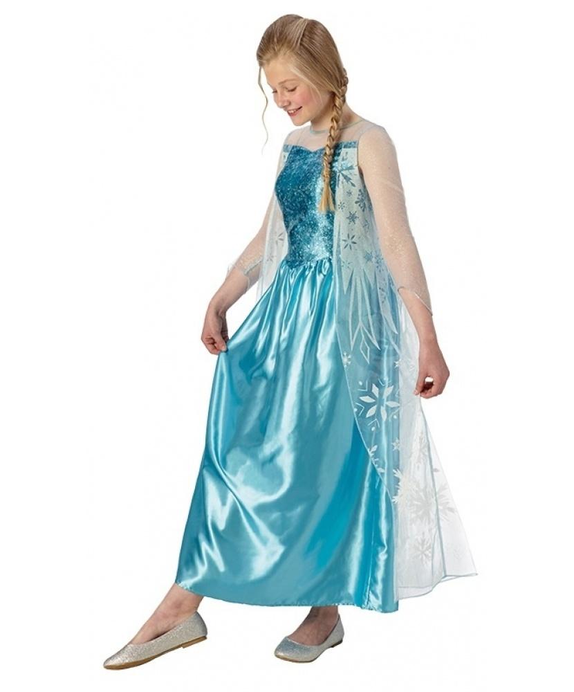 новогодний костюм Эльзы для девочки
