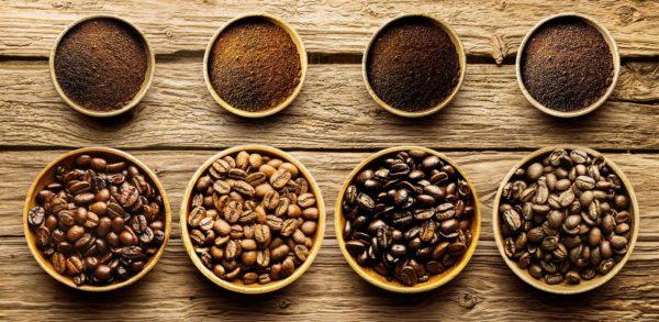 В зернах арабики кофеина меньше, чем в робусте.