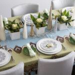 красивая сервировка стола фото видов