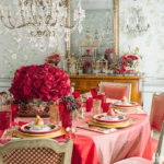 красивая сервировка стола дизайн фото