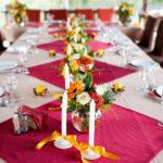 красивая сервировка стола фото дизайна