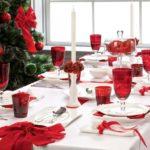 красный декор на новый год