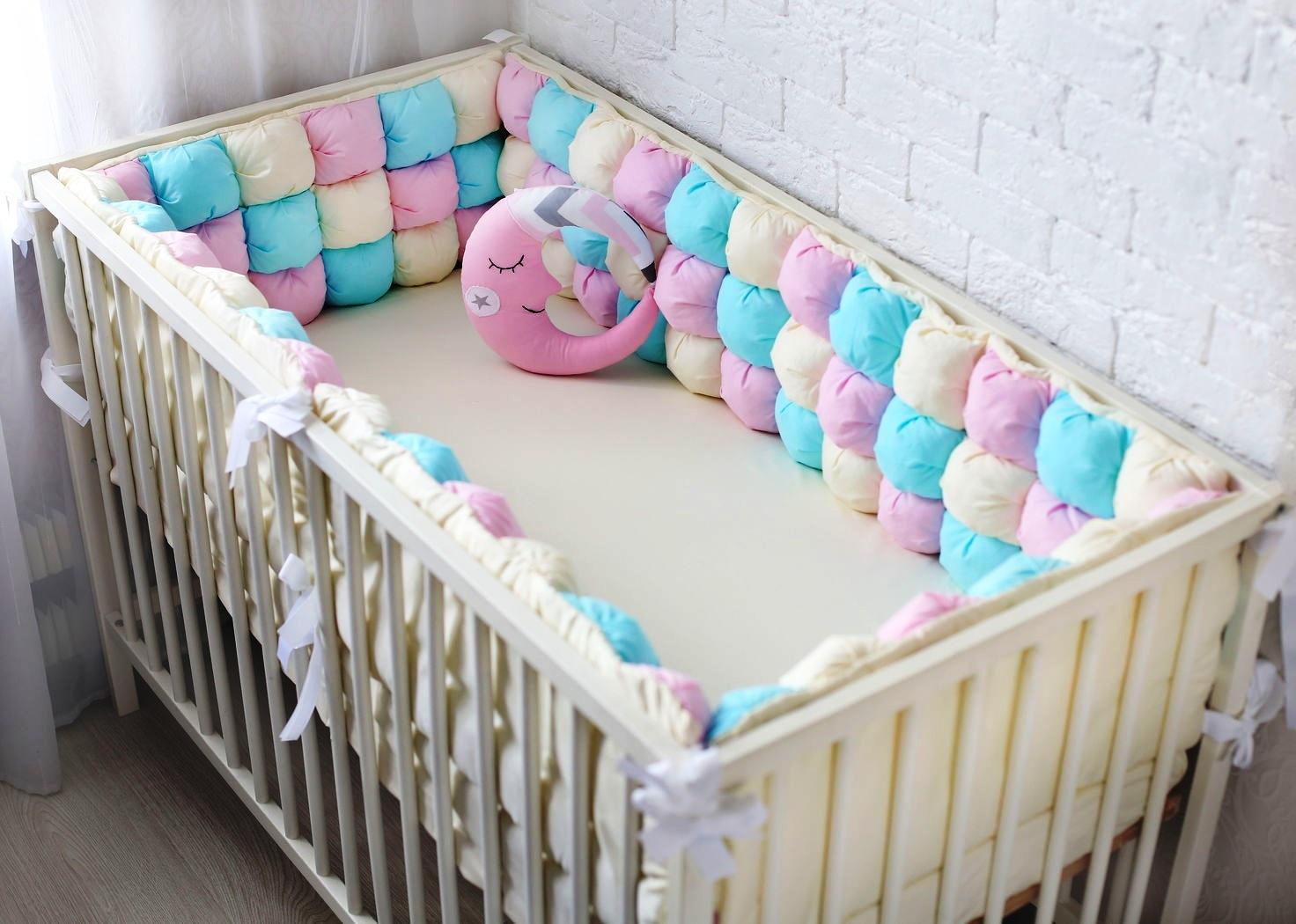 кроватка с бортиками