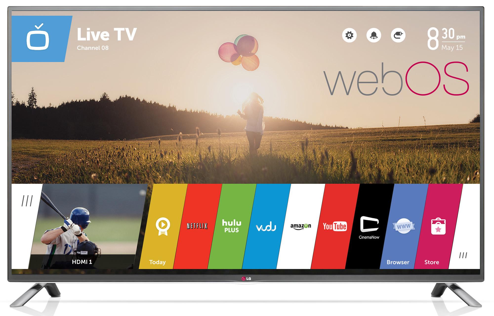 телевизор с web os