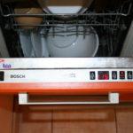 мойка в посудомоечной машине